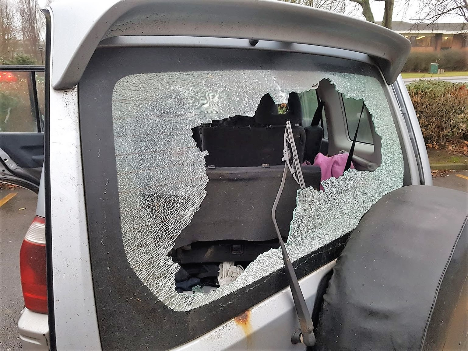 North Cambs Windows Smashed 2